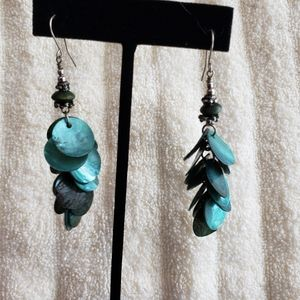 Teal Green Earrings